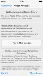 Apple iPhone 5c - Apps - Einrichten des App Stores - Schritt 11