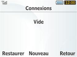 Samsung S3350 Chat 335 - MMS - Configuration manuelle - Étape 7