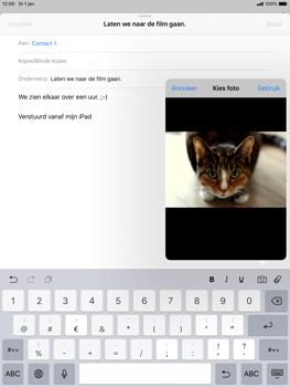 Apple ipad-mini-5-7-9-inch-2019-model-a2124 - E-mail - Hoe te versturen - Stap 11