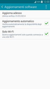 Samsung Galaxy Note 4 - Software - Installazione degli aggiornamenti software - Fase 7