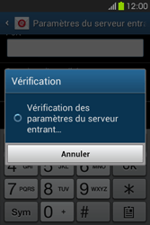 Samsung S6810P Galaxy Fame - E-mail - Configuration manuelle - Étape 12