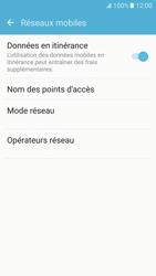 Samsung Galaxy S7 - Aller plus loin - Désactiver les données à l'étranger - Étape 5