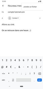 Google Pixel 3a - E-mails - Envoyer un e-mail - Étape 10