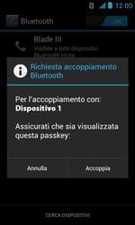 ZTE Blade III - Bluetooth - Collegamento dei dispositivi - Fase 7