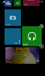 Nokia Lumia 635 - Getting started - Personalising your Start screen - Step 10
