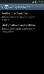 Samsung Galaxy S III Mini - Netzwerk - Manuelle Netzwerkwahl - Schritt 7