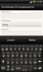 HTC One SV - E-Mail - Konto einrichten - 0 / 0