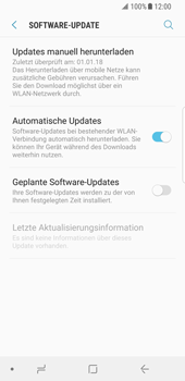 Samsung Galaxy S8 - Android Oreo - Software - Installieren von Software-Updates - Schritt 6