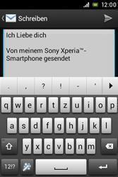 Sony Xperia E - E-Mail - E-Mail versenden - 10 / 16
