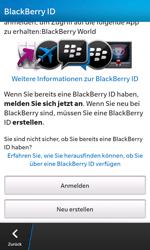 BlackBerry Z10 - Apps - Einrichten des App Stores - Schritt 7