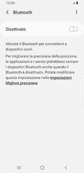 Samsung Galaxy S9 - Android Pie - Bluetooth - Collegamento dei dispositivi - Fase 6