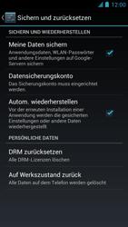 Alcatel One Touch Idol - Gerät - Zurücksetzen auf die Werkseinstellungen - Schritt 6