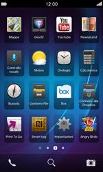 BlackBerry Z10 - Rete - Selezione manuale della rete - Fase 3