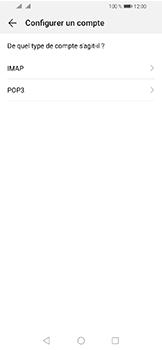 Huawei Y6 (2019) - E-mails - Ajouter ou modifier un compte e-mail - Étape 7