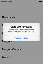 Apple iPhone 4S (iOS 8) - Premiers pas - Créer un compte - Étape 3