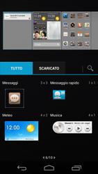 Huawei Ascend P6 - Operazioni iniziali - Installazione di widget e applicazioni nella schermata iniziale - Fase 5