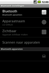 LG GW620 - Bluetooth - koppelen met ander apparaat - Stap 8