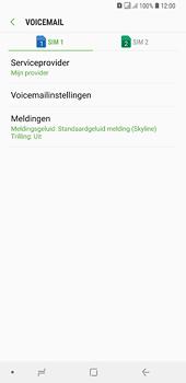 Samsung Galaxy A6 Plus - voicemail - handmatig instellen - stap 8