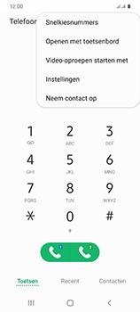 Samsung Galaxy S20 5G Dual-SIM eSIM SM-G981B - Voicemail - Handmatig instellen - Stap 5