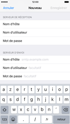 Apple iPhone 6 iOS 10 - E-mail - configuration manuelle - Étape 13