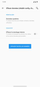 OnePlus 7T Pro - Aller plus loin - Restaurer les paramètres d'usines - Étape 7