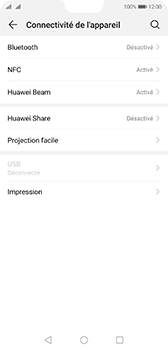 Huawei P20 - Android Pie - Bluetooth - Jumelage d