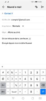 Huawei Y6 (2019) - E-mails - Envoyer un e-mail - Étape 9