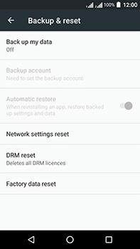 Acer Liquid Zest 4G Plus DualSim - Device - Factory reset - Step 6