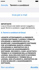 Apple iPhone 4S iOS 7 - Applicazioni - Configurazione del servizio Apple iCloud - Fase 6