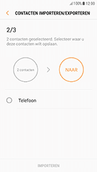 Samsung Galaxy A5 (2017) - Android Nougat - Contacten en data - Contacten kopiëren van SIM naar toestel - Stap 12