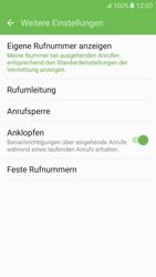 Samsung G920F Galaxy S6 - Android M - Anrufe - Rufumleitungen setzen und löschen - Schritt 7
