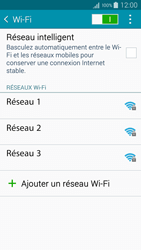 Samsung Galaxy A3 (A300FU) - Internet et connexion - Accéder au réseau Wi-Fi - Étape 6