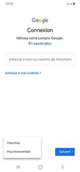 Samsung Galaxy A20e - Applications - Créer un compte - Étape 6