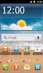 Samsung I8160 Galaxy Ace II - apps - account instellen - stap 1