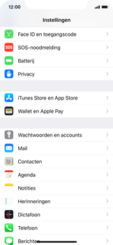 Apple iPhone XS - Beveiliging - stel in of wijzig pincode voor je toestel - Stap 3