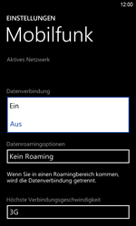 HTC Windows Phone 8S - Internet - Manuelle Konfiguration - Schritt 6