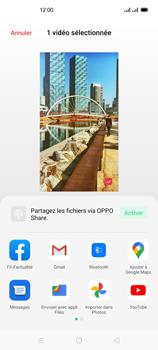 Oppo Reno 4Z - Photos, vidéos, musique - Créer une vidéo - Étape 17