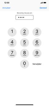Apple iPhone XR - Beveiliging - Stel de pincode voor je simkaart in - Stap 11