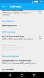 Sony E2303 Xperia M4 Aqua - MMS - probleem met ontvangen - Stap 6