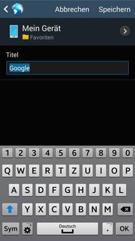 Samsung Galaxy Note III LTE - Internet und Datenroaming - Verwenden des Internets - Schritt 9
