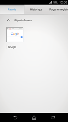 Sony Xperia Z3 Compact - Internet et roaming de données - Navigation sur Internet - Étape 11