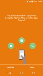 Wiko U-Feel Lite - E-mail - Configuration manuelle (outlook) - Étape 4