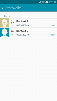 Samsung N910F Galaxy Note 4 - Anrufe - Anrufe blockieren - Schritt 11