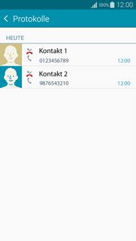 Samsung Galaxy Note 4 - Anrufe - Anrufe blockieren - 1 / 1