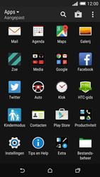 HTC One M8s (Model 0PKV100) - SMS - Handmatig instellen - Stap 3