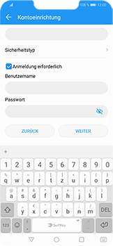 Huawei Honor Play - E-Mail - Konto einrichten - Schritt 15