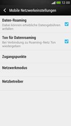 HTC Desire 601 - Ausland - Im Ausland surfen – Datenroaming - Schritt 9