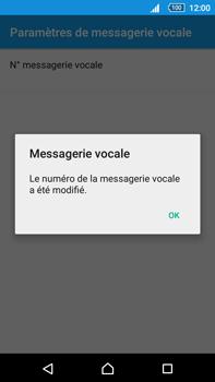 Sony Xperia Z5 Premium (E6853) - Messagerie vocale - Configuration manuelle - Étape 10