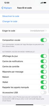 Apple iPhone XS Max - iOS 13 - Sécurité - activéz le code PIN de l'appareil - Étape 8