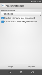 Sony D5103 Xperia T3 - E-mail - handmatig instellen - Stap 16